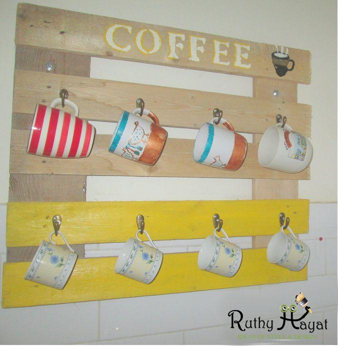 1 - מתלה לספלי קפה