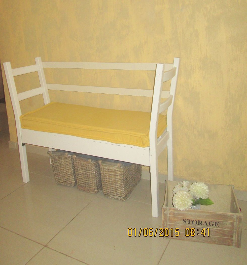 6 1 - בניית ספסל משני כיסאות