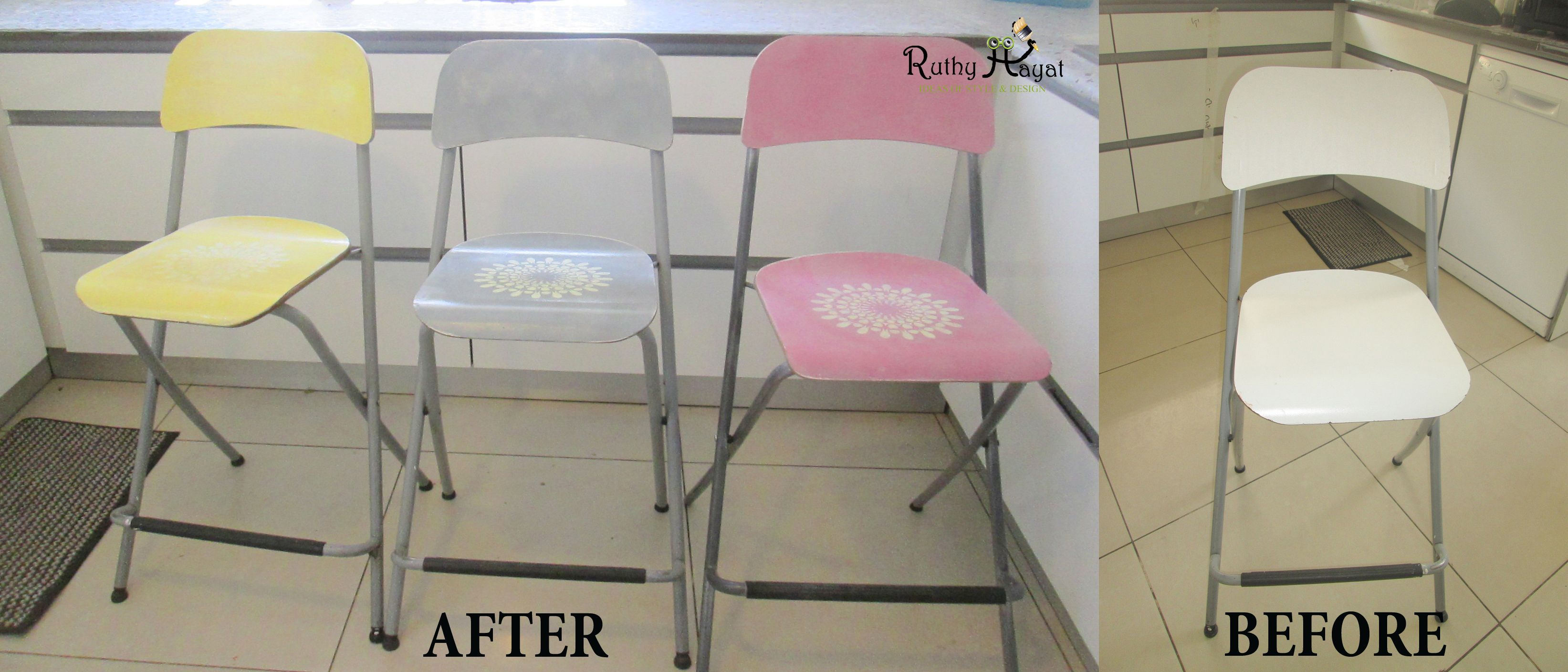 BEFORE AFTER - שדרוג מטבח בקלות ובלי כסף...