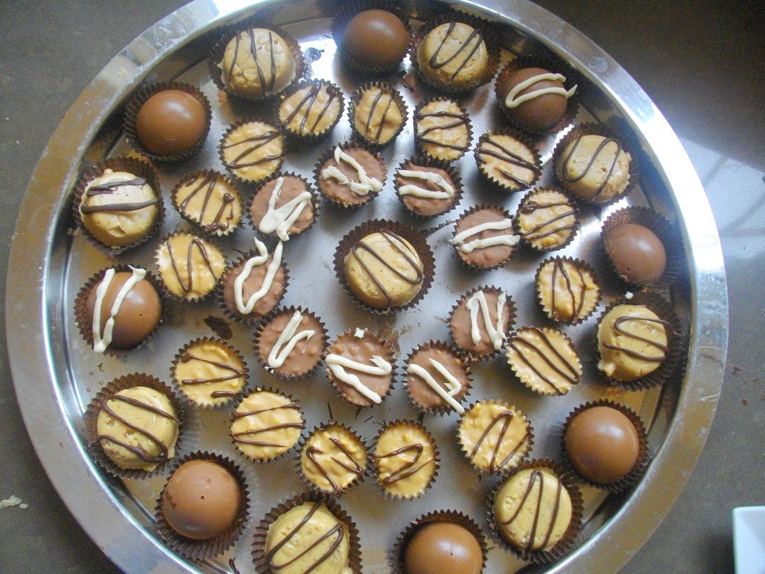 IMGP5081 - עוגת פינצ'ו - חמאת בוטנים