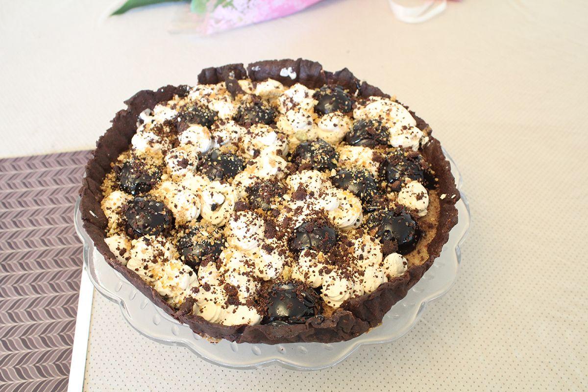 IMG 3255 - טארט שוקולד וקפה