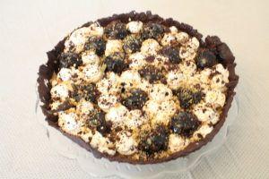 IMG 3257 300x200 - טארט שוקולד וקפה