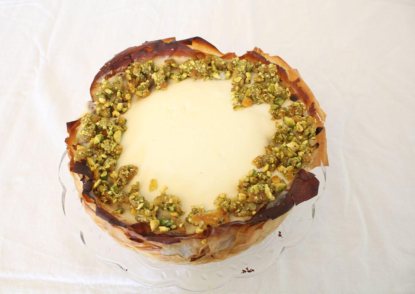 IMG 3328 - עוגת גבינה בעלי פילו