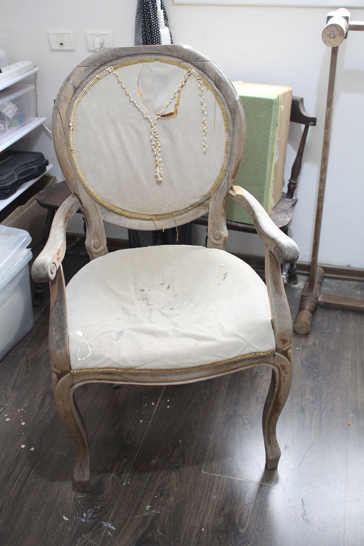IMG 1927 - חידוש כסא עתיק