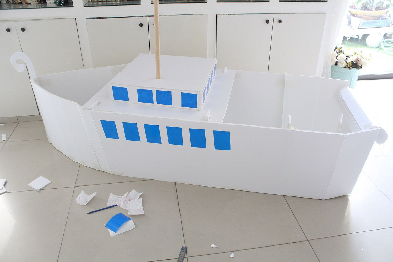 IMG 3648 - בנית אוניה גדולה מקאפה