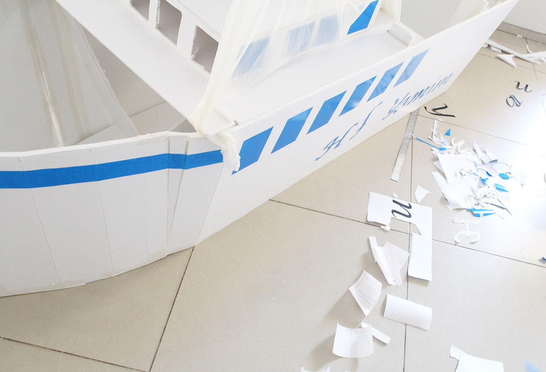 IMG 3649 - בנית אוניה גדולה מקאפה