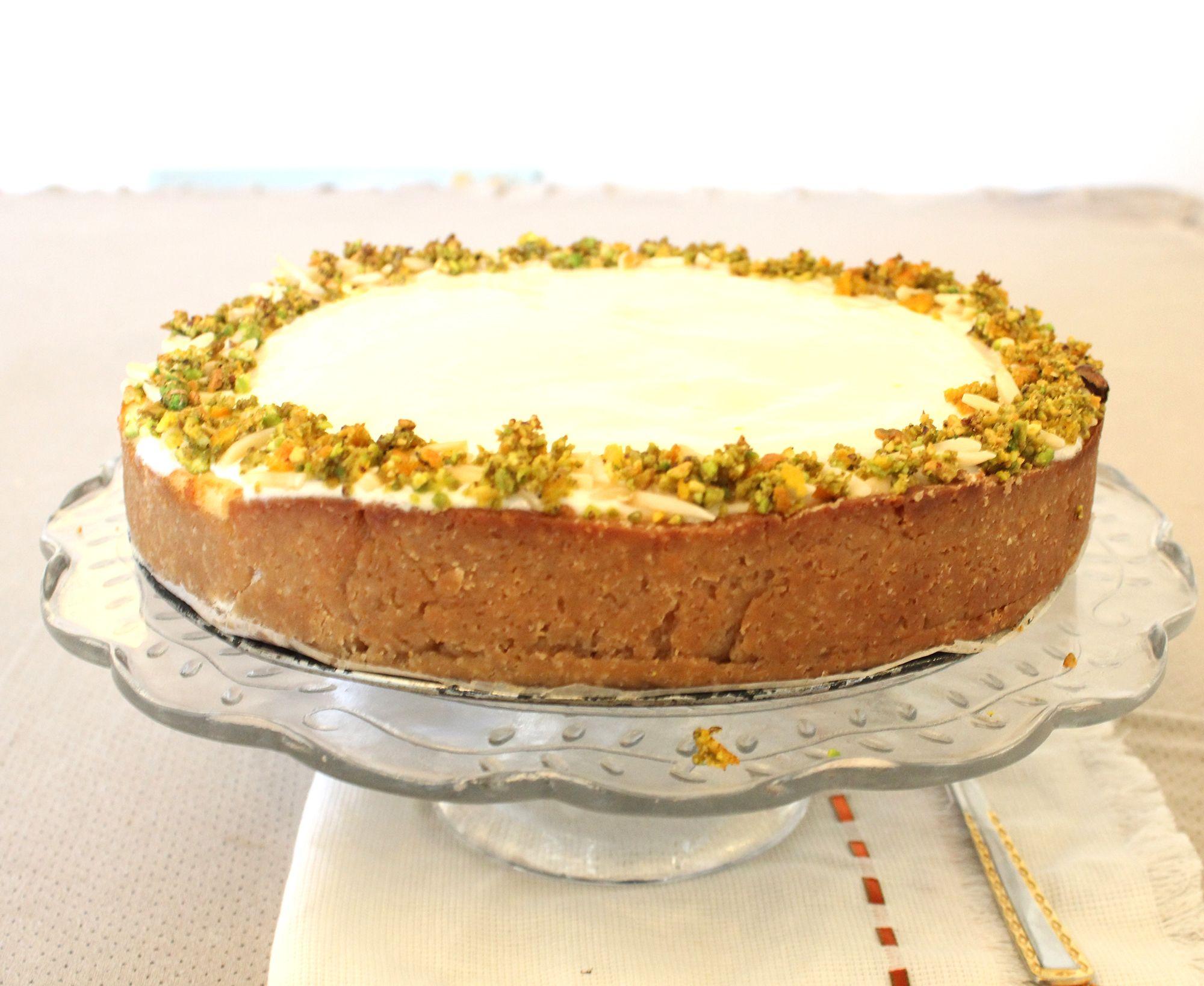 IMG 3773 - עוגת גבינה בניחוח פרות הדר