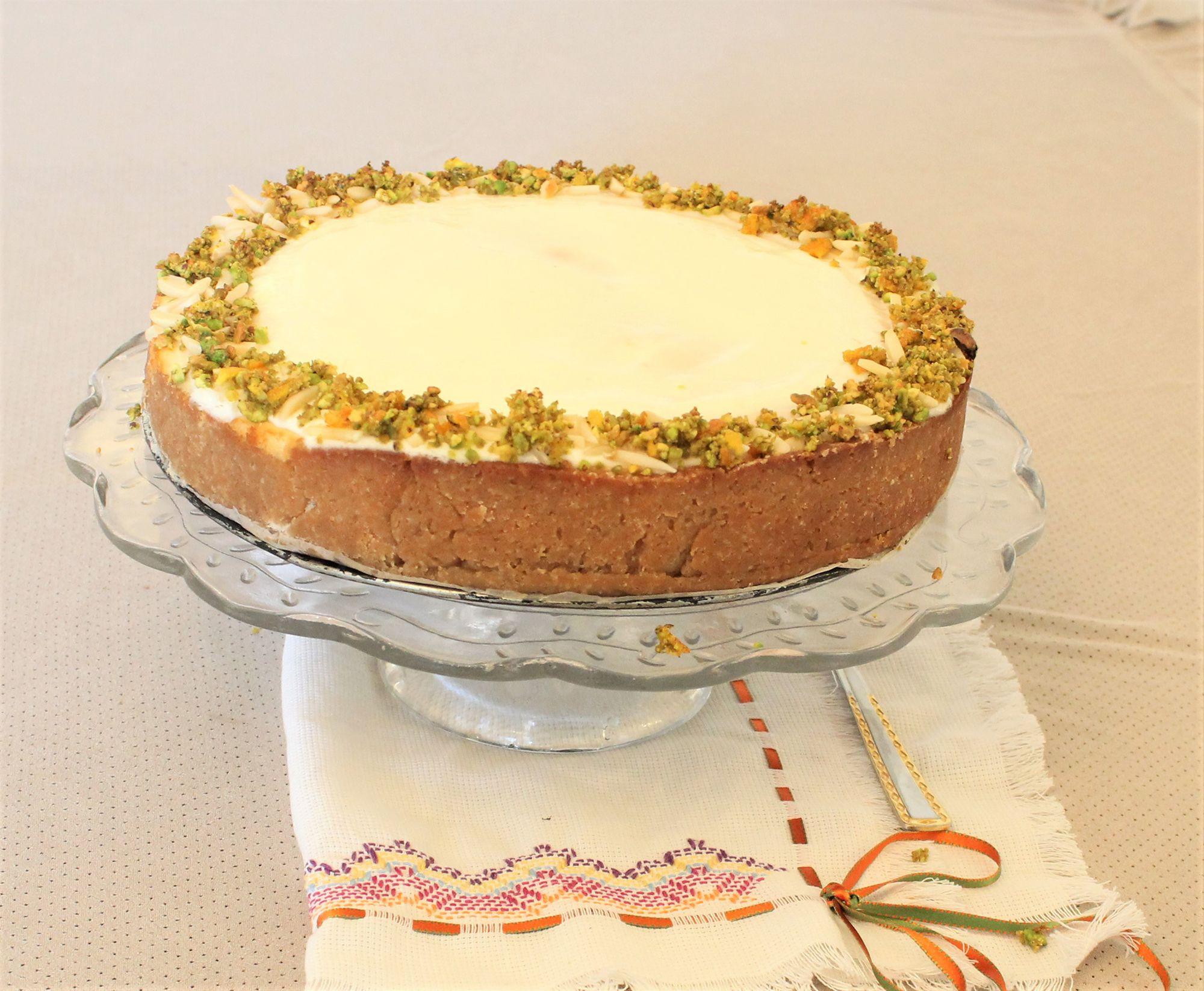 IMG 3774 - עוגת גבינה בניחוח פרות הדר