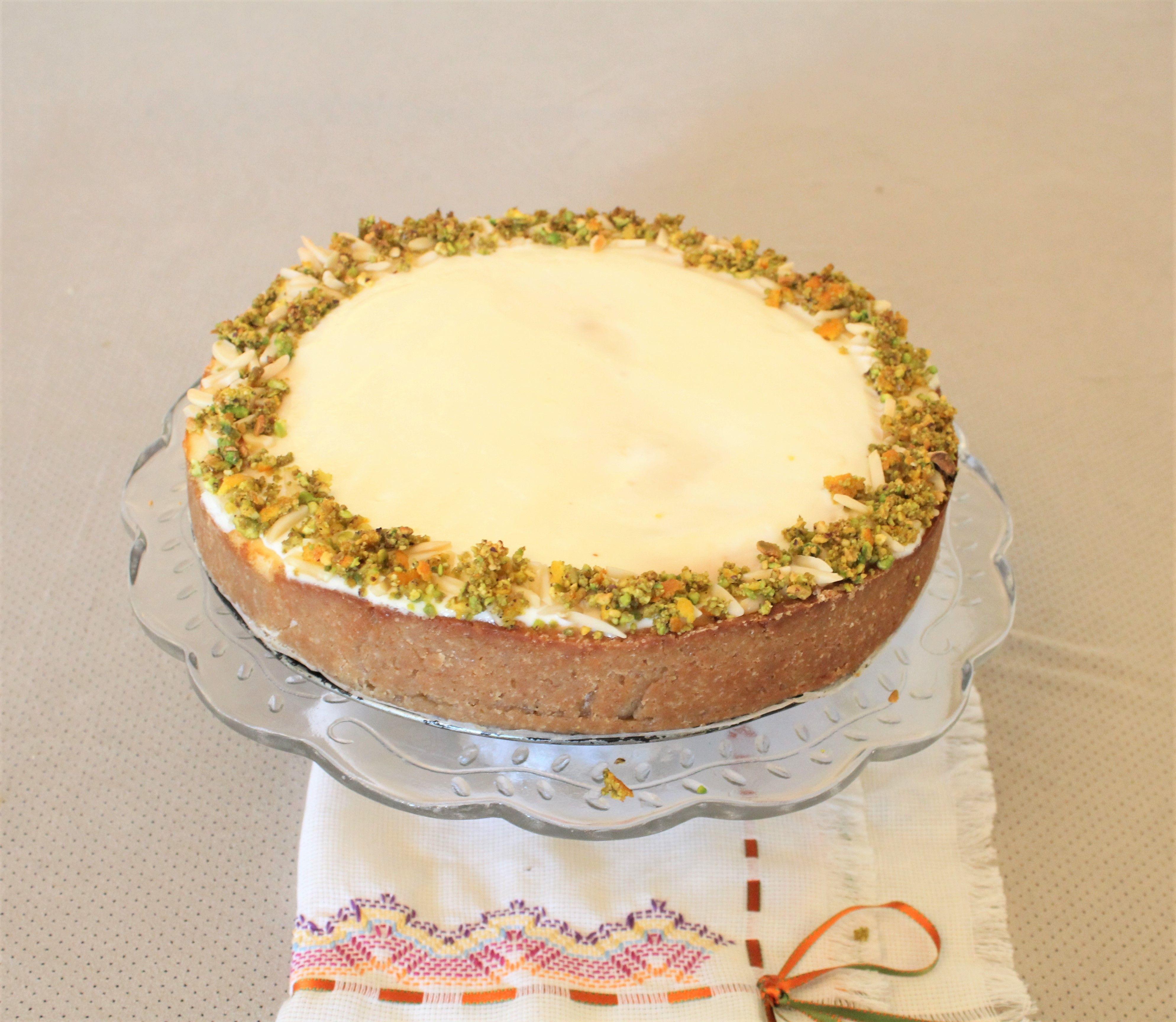 IMG 3775 - עוגת גבינה בניחוח פרות הדר