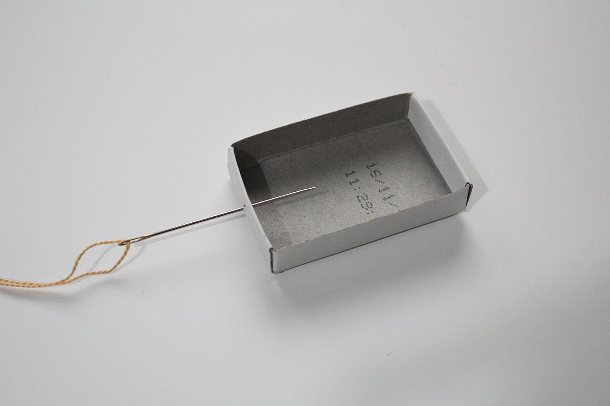 IMG 3872 - יצירת שובך יונים מקופסת גפרורים