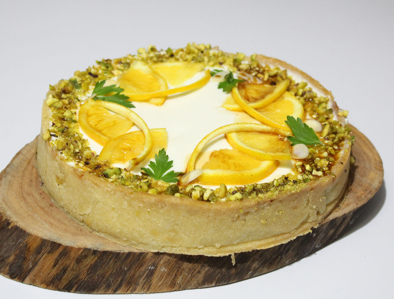 IMG 6031 - עוגת גבינה בניחוח פרות הדר