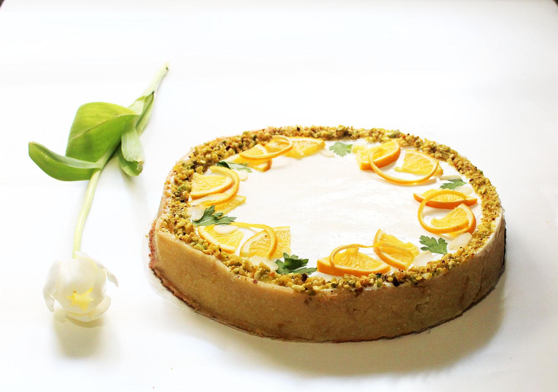 IMG 6041 - עוגת גבינה בניחוח פרות הדר