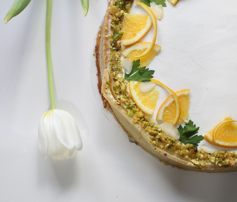 IMG 6045 - עוגת גבינה בניחוח פרות הדר