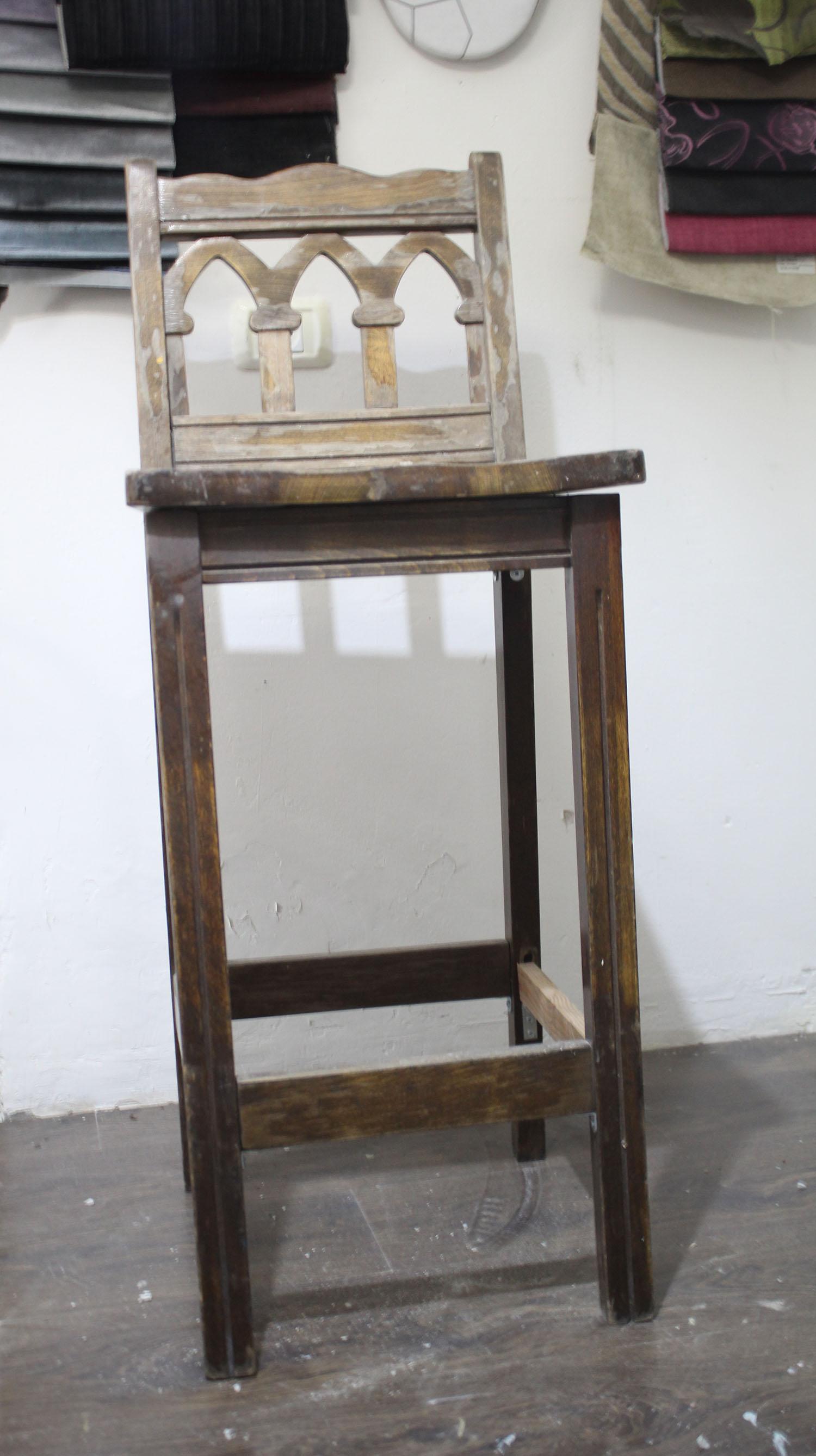 IMG 4850 - שיפוץ כסאות בר ישנים