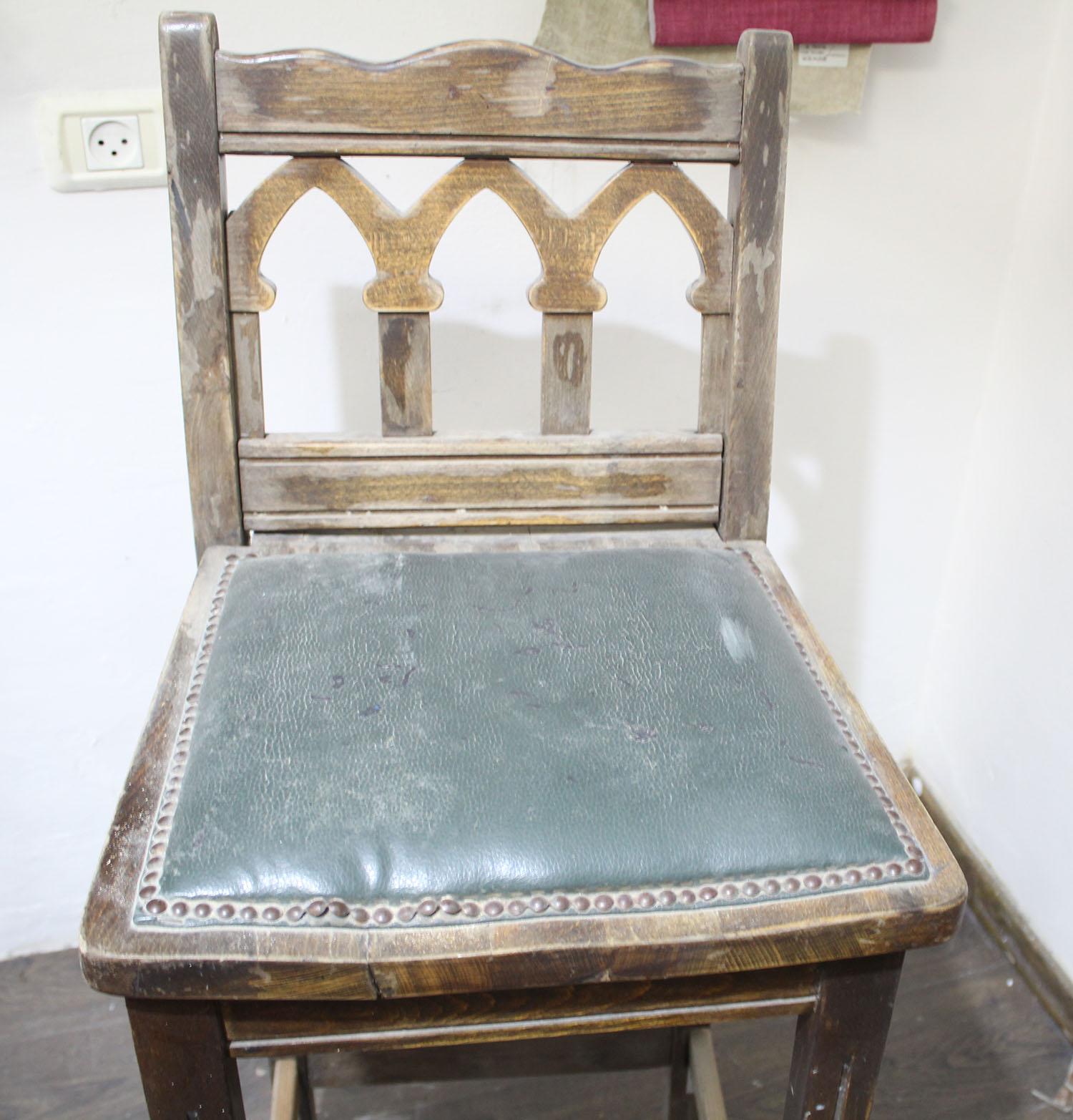 IMG 4855 - שיפוץ כסאות בר ישנים