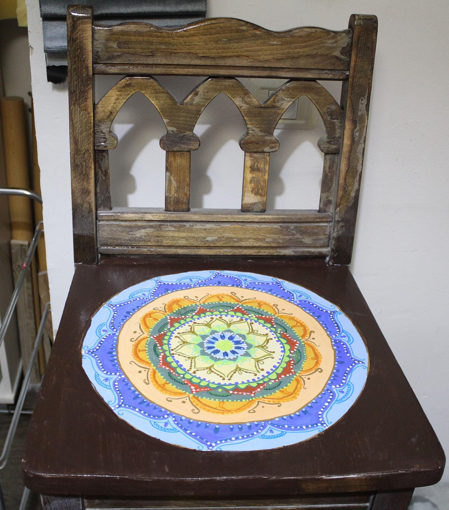 IMG 4886 - שיפוץ כסאות בר ישנים