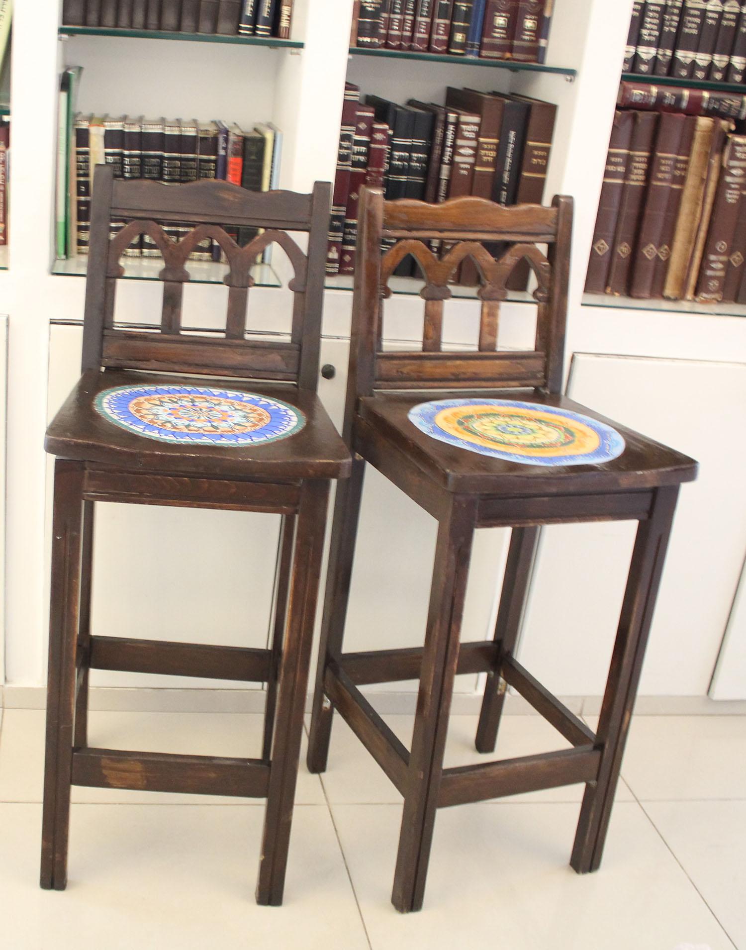 IMG 4964 - שיפוץ כסאות בר ישנים