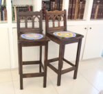 IMG 4965 150x137 - חידוש כסאות לפינת אוכל בסלון