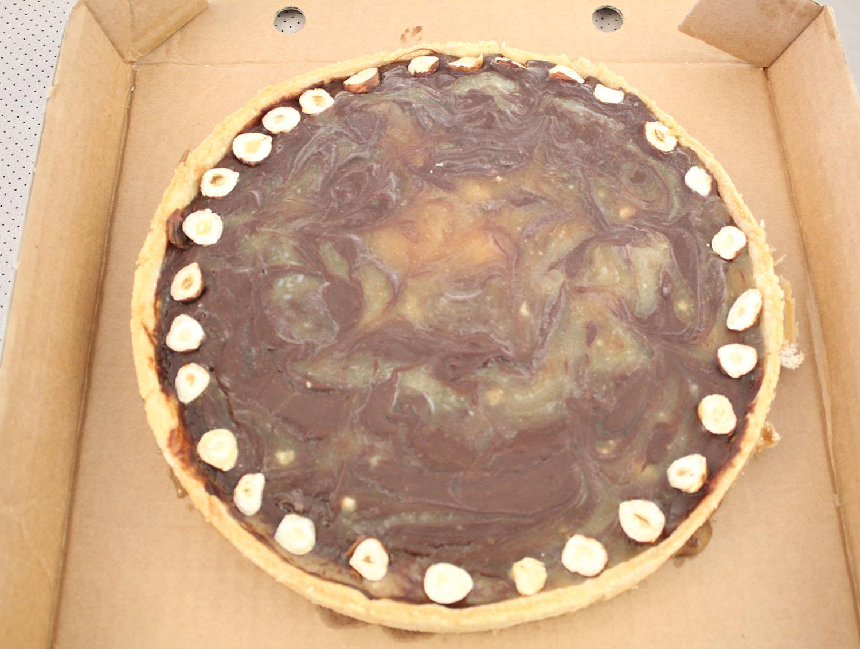 IMG 5049 - טארט שיש קרמל ושוקולד