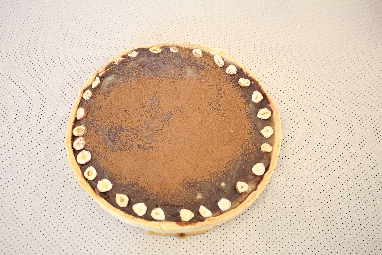IMG 5051 - טארט שיש קרמל ושוקולד
