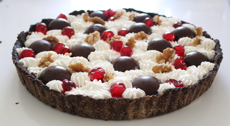 IMG 5090 - טארט שוקולד ודובדבנים