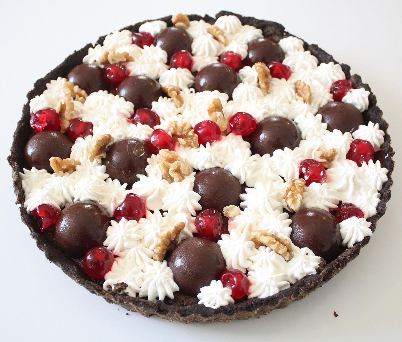IMG 5099 - טארט שוקולד ודובדבנים