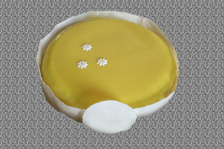 12345 - עוגת שכבות אננס ושוקולד לבן