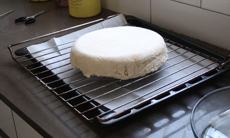 IMG 4607 1 - עוגת שכבות אננס ושוקולד לבן