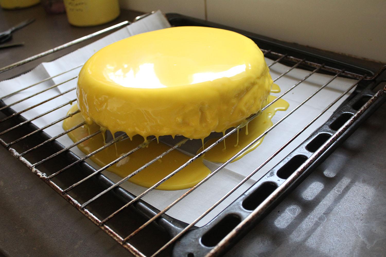 IMG 4615 - עוגת שכבות אננס ושוקולד לבן