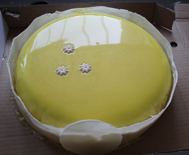 IMG 4620 - עוגת שכבות אננס ושוקולד לבן