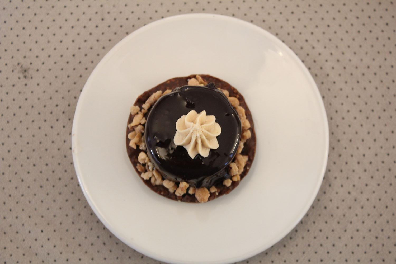 IMG 5334 - מוס שוקולד על בסיס קראנצ פרלין