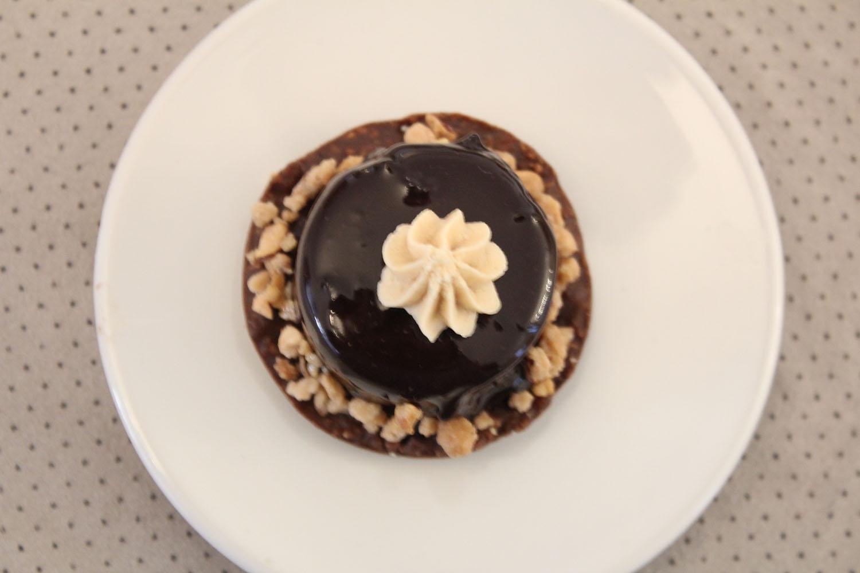 IMG 5336 - מוס שוקולד על בסיס קראנצ פרלין