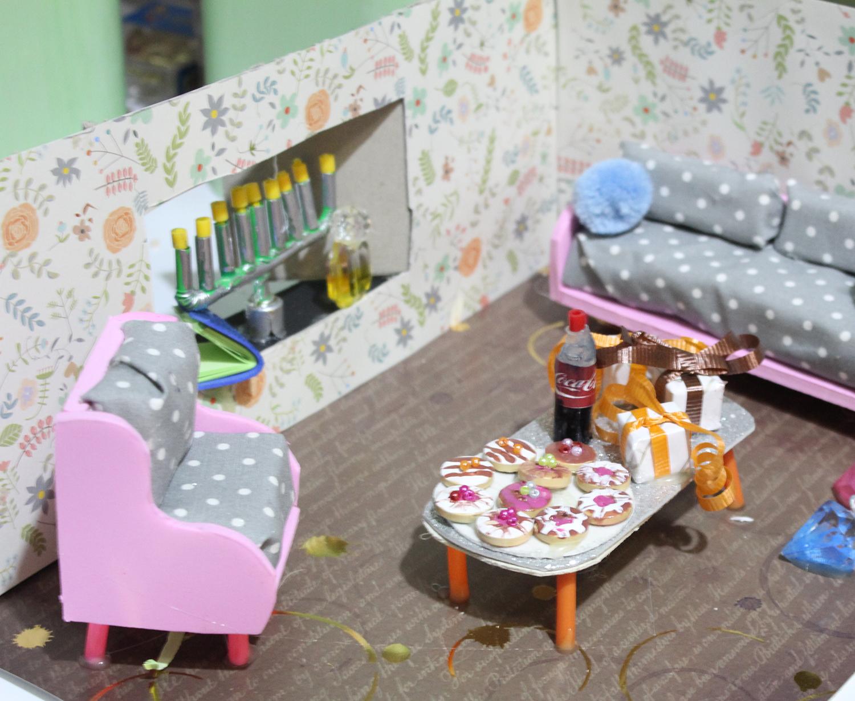 IMG 5767 - מיניאטורה: ערב לביבות בסלון