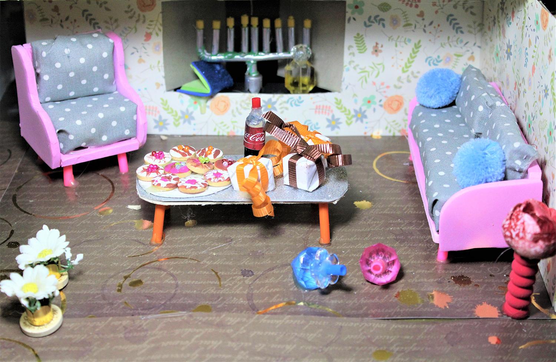 IMG 5883 - מיניאטורה: ערב לביבות בסלון