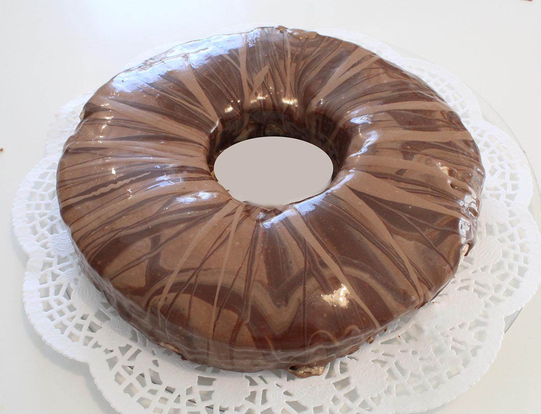 IMG 6263 - עוגת טורט מוס קפה פרלין
