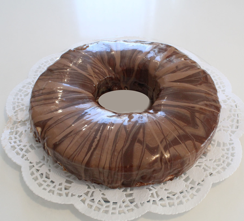 IMG 6264 - עוגת טורט מוס קפה פרלין