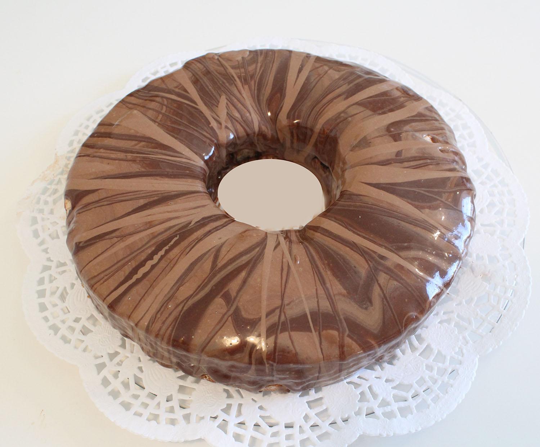 IMG 6272 - עוגת טורט מוס קפה פרלין