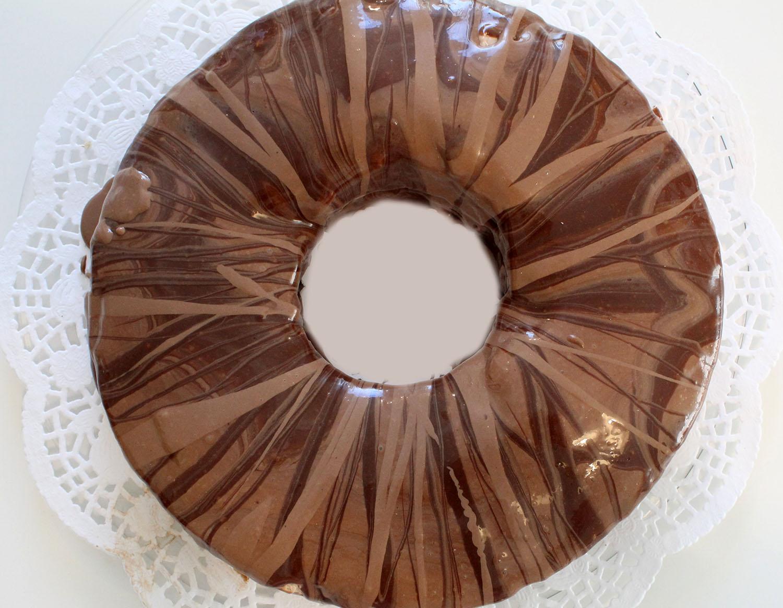 IMG 6275 - עוגת טורט מוס קפה פרלין