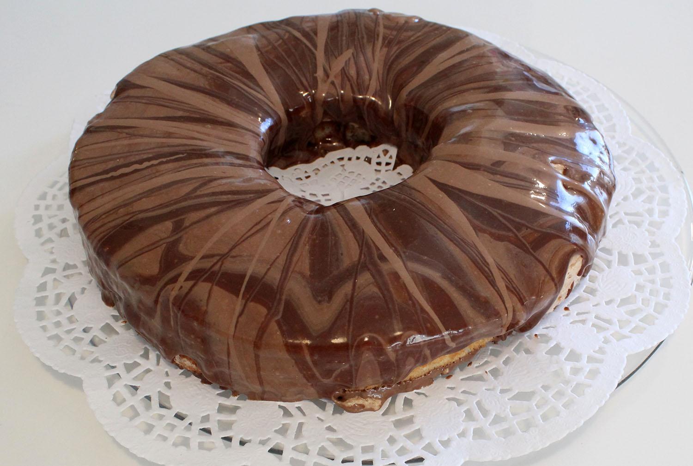 IMG 6278 - עוגת טורט מוס קפה פרלין