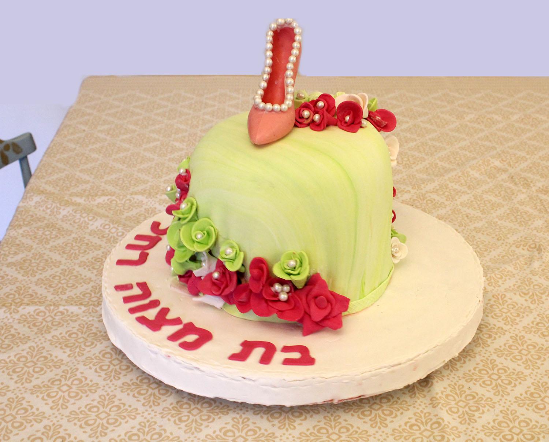 IMG 6305 - עוגה לבת מצוה