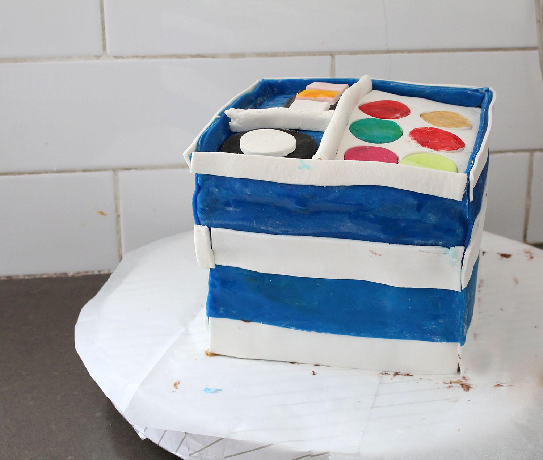 IMG 6409 - עוגה : סט איפור