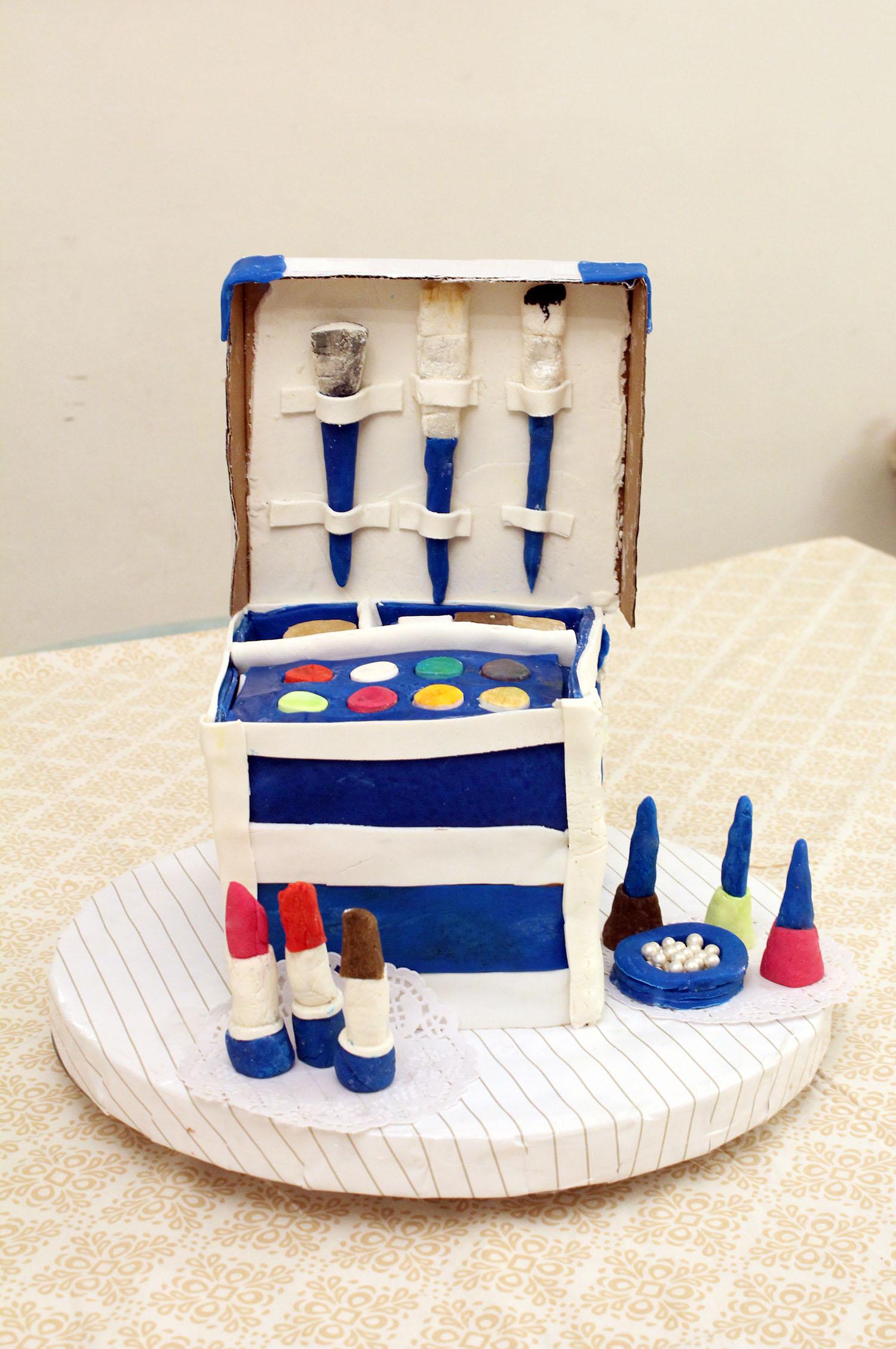 IMG 6411 - עוגה : סט איפור