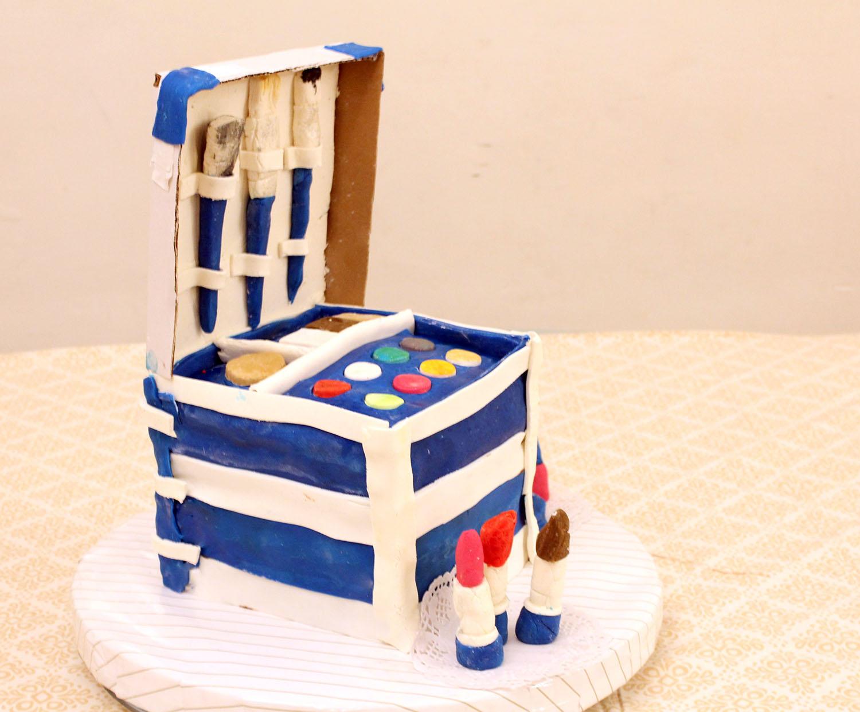 IMG 6416 - עוגה : סט איפור
