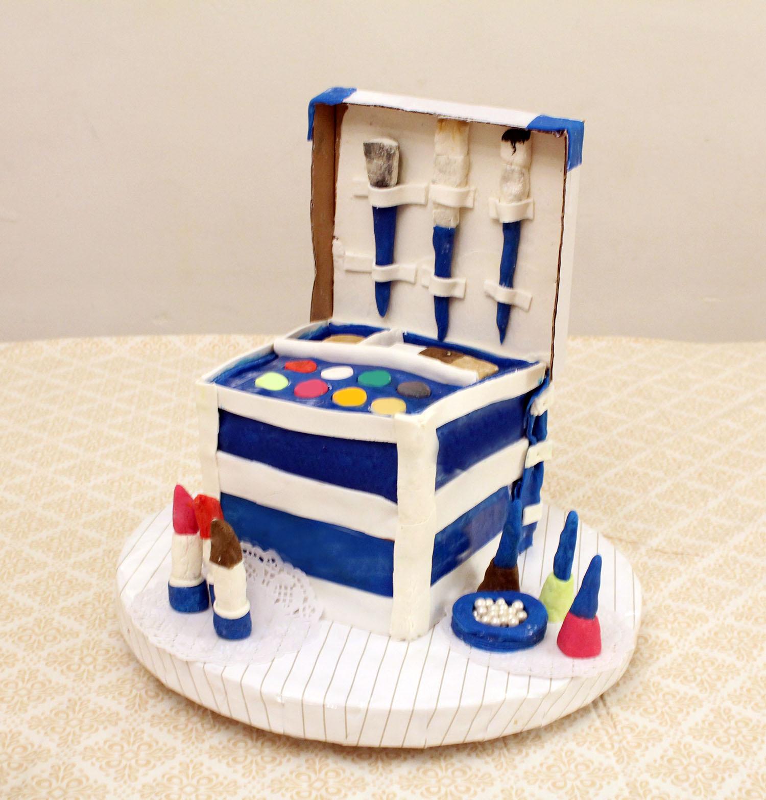 IMG 6418 - עוגה : סט איפור