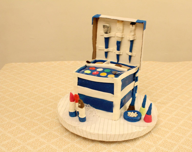 IMG 6421 - עוגה : סט איפור