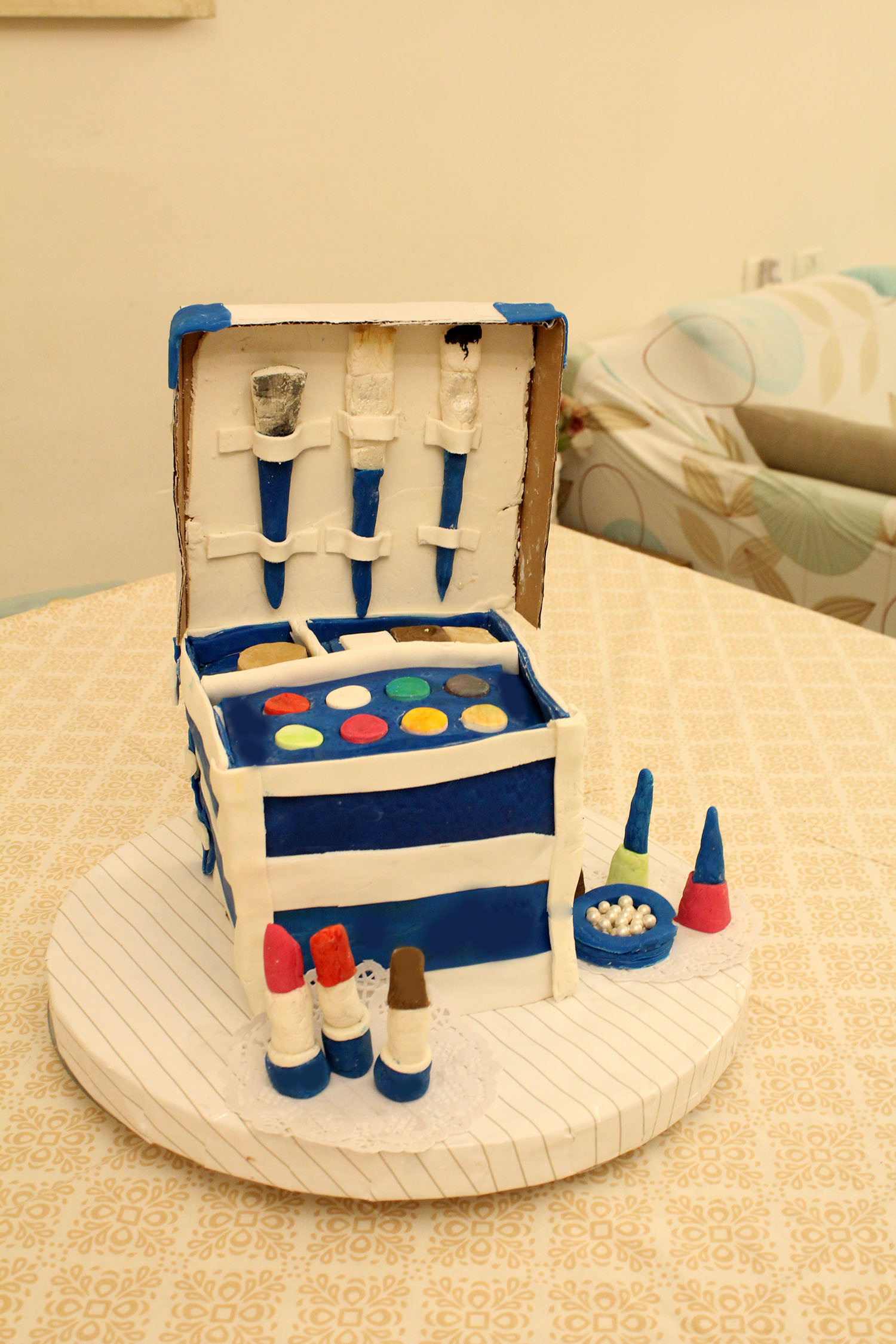IMG 6435 - עוגה : סט איפור