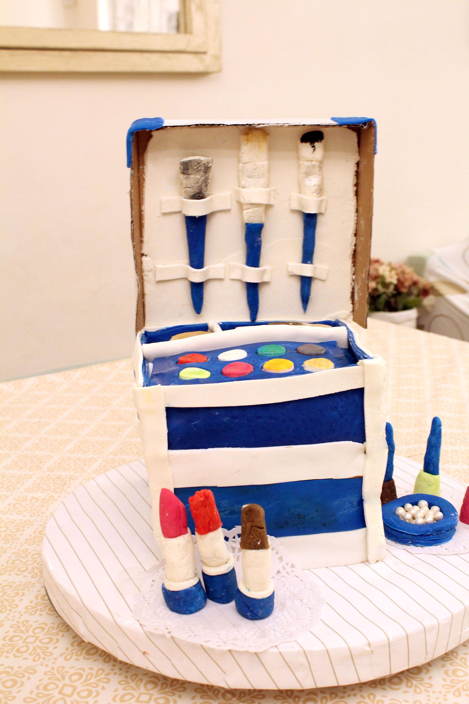 IMG 6438 - עוגה : סט איפור