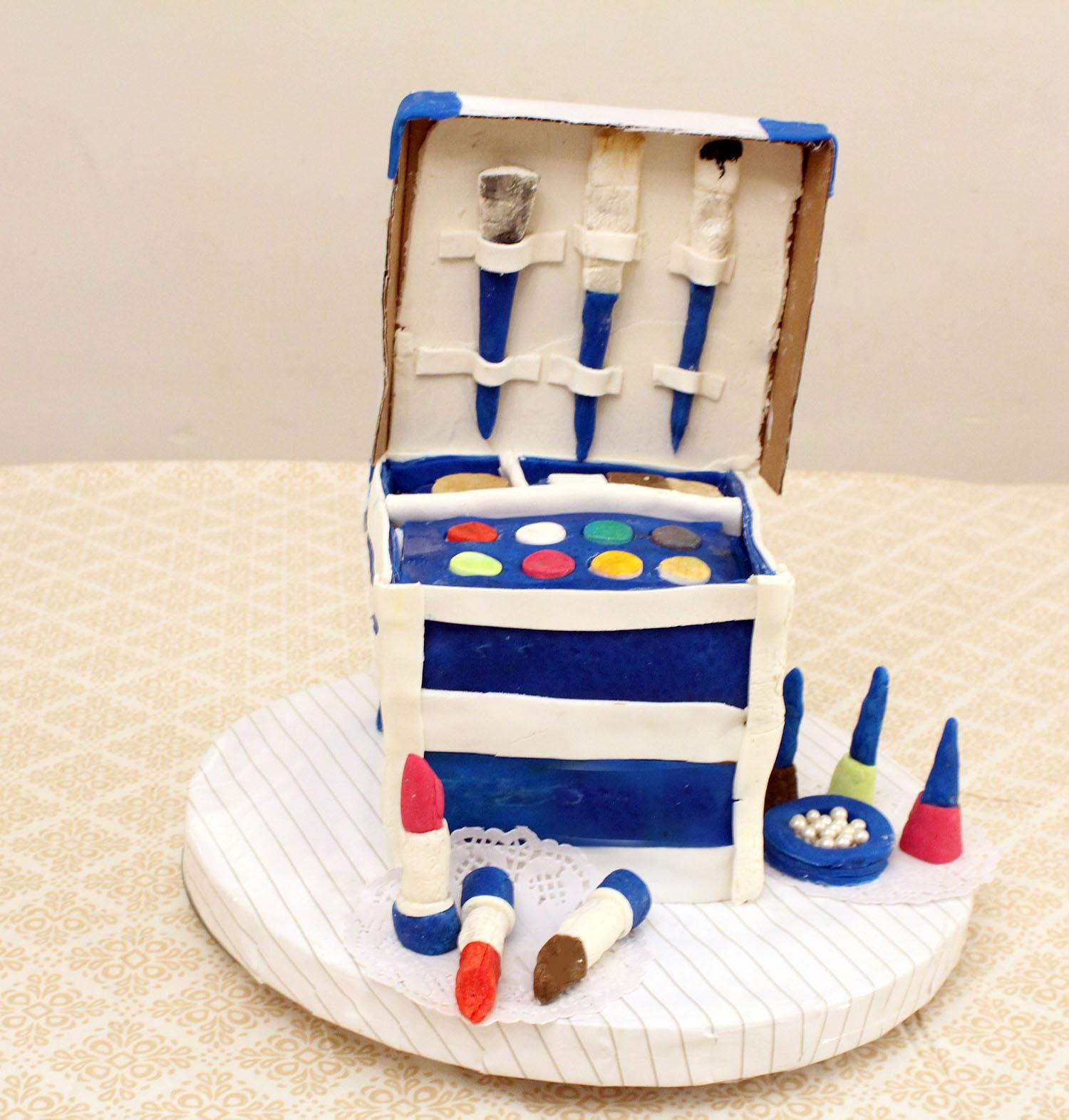 IMG 6441 - עוגה : סט איפור