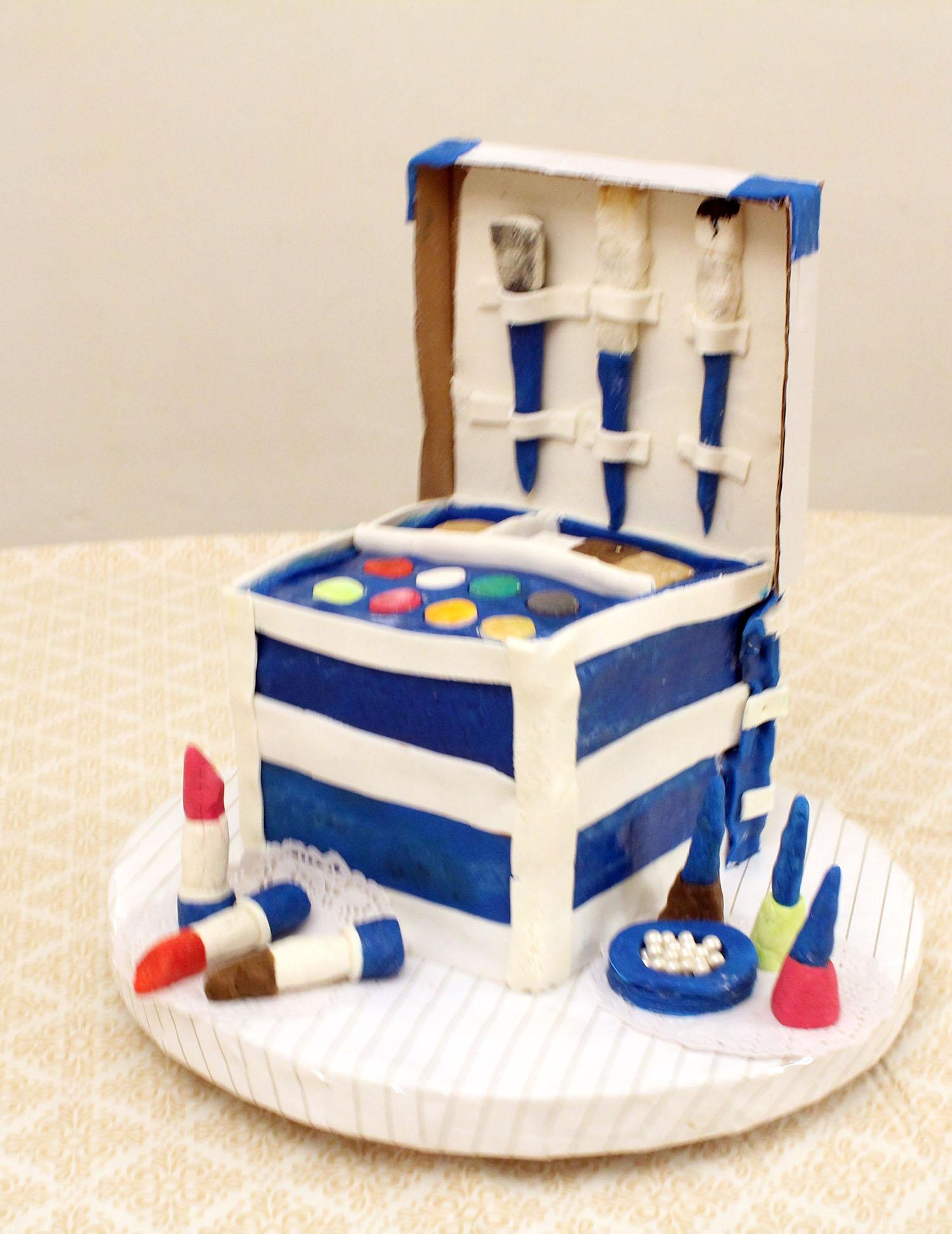 IMG 6449 - עוגה : סט איפור