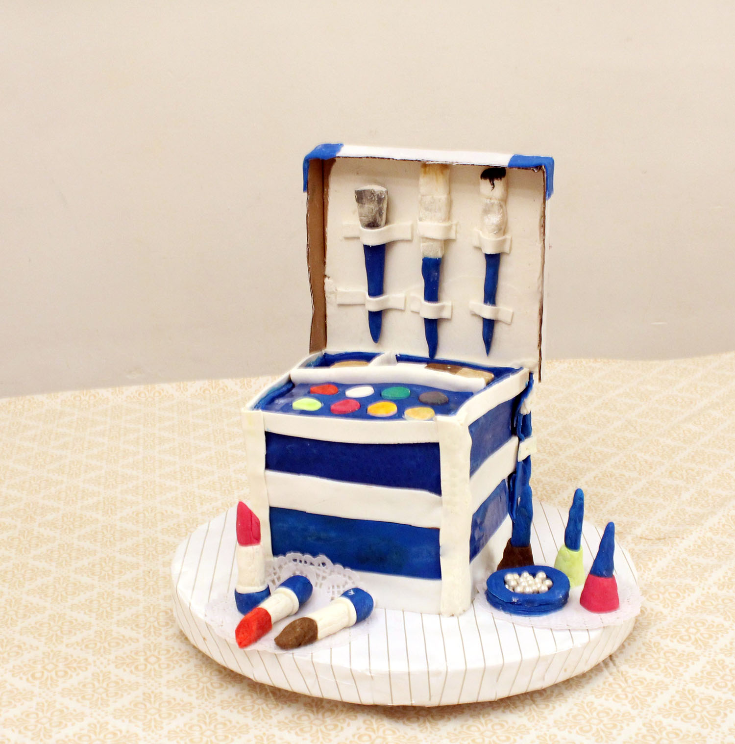 IMG 6457 - עוגה : סט איפור